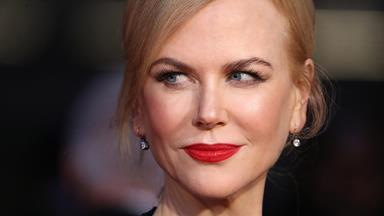Thigh's the limit! Nicole Kidman's red carpet wardrobe malfunction
