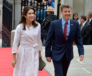 Prince Frederik and Princess Mary
