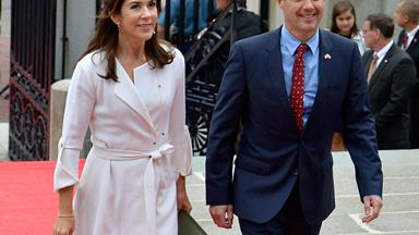 Denmark's Crown Prince Frederik has fractured his spine