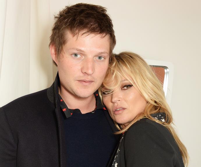 Kate Moss and Nikolai von Bismark