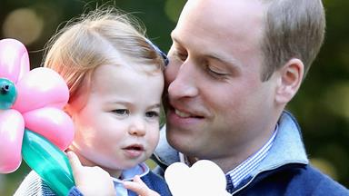 Prince William reveals Princess Charlotte's secret sporting skill