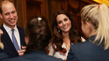 Kate, Wills and Harry join the Queen to celebrate Team GB