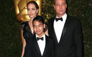 Brad Pitt Angelina Jolie Maddox Jolie-Pitt