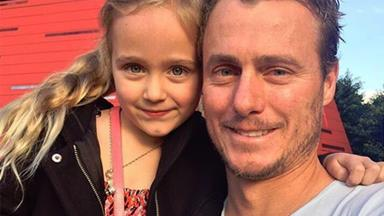 Bec and Lleyton Hewitt's sweet birthday tributes for Ava