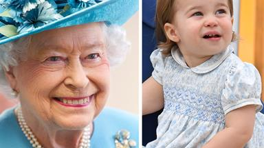 The gorgeous way Princess Charlotte is taking after The Queen