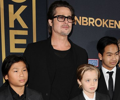 Brad Pitt and Maddox Jolie-Pitt reunite for the first time since alleged plane altercation