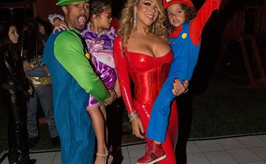 Mariah Carey throws a Halloween bash with her ex-husband Nick Cannon