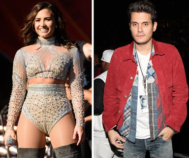 John Mayer and Demi Lovato spotted on a date