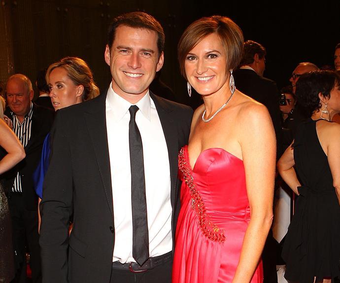 Karl Stefanovic and Cassandra Thorburn