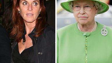 Sarah Ferguson says she's still scared of Queen Elizabeth