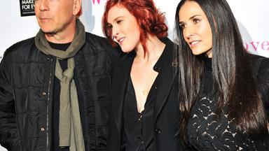 Rumer Willis opens up about her close relationship with Bruce and Demi