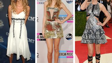 The style evolution of Taylor Swift