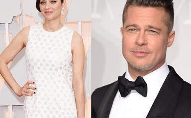Sizzling new poster released of Brad Pitt and Marion Cotillard