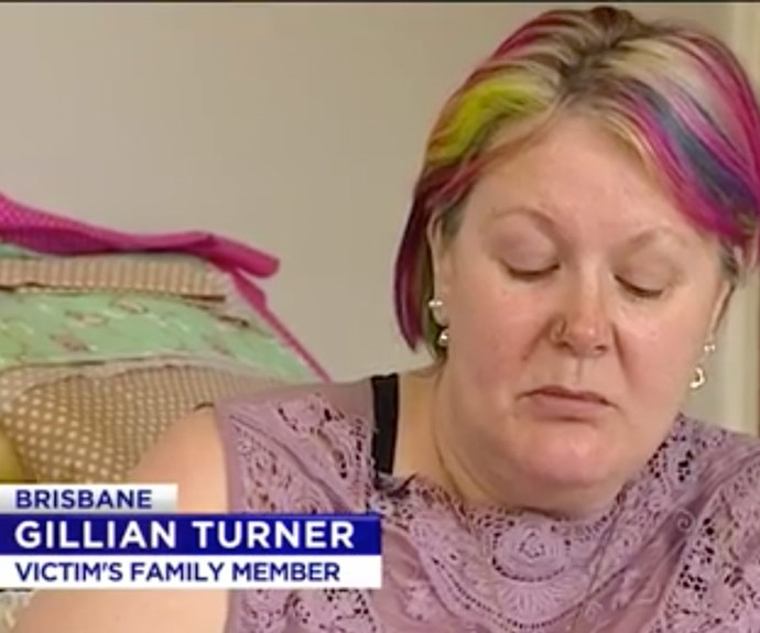 """""""My son managed to reach his partner of 33 years who died in his arms,"""" Gillian said."""