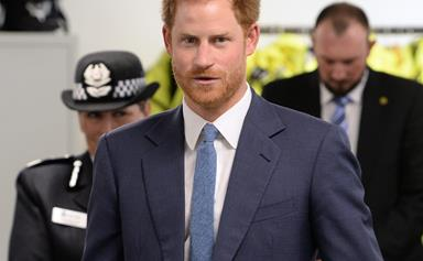 Prince Harry has a brush with Nottingham Police during latest outing