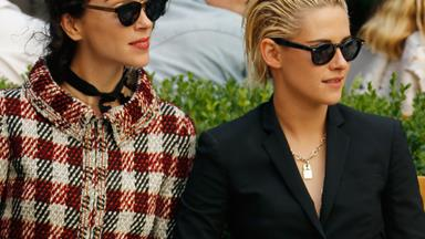 Kristen Stewart and St Vincent make red carpet appearance for first public outing