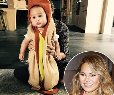 Chrissy Teigen shows off adorable Halloween costumes for baby Luna