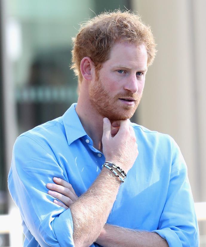 Check out Harry's bracelet...