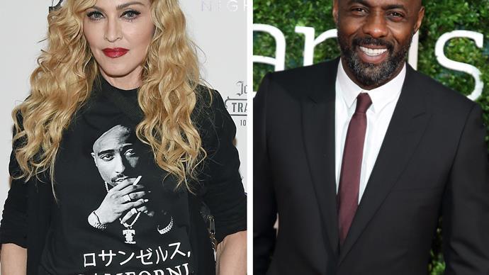 Madonna and Idris Elba