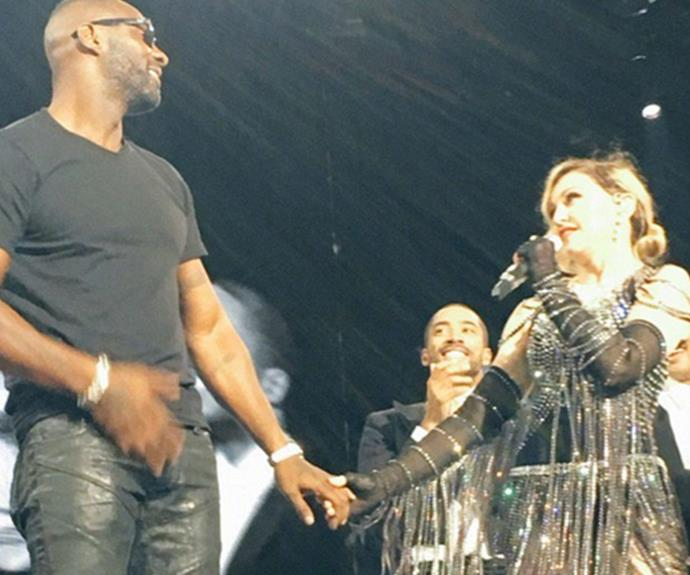 Idris has been a longtime fan of Madonna.