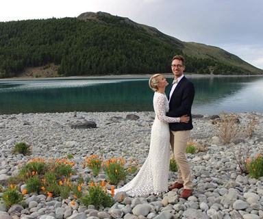 Carolyn Taylor ties the knot in surprise wedding