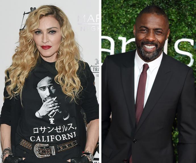 Madonna Idris Elba