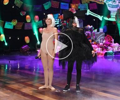 Ellen and Heidi Klum perform Sia's Chandelier