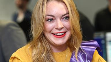 Lindsay Lohan explains her strange new accent…