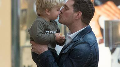 Michael Buble's three-year-old son undergoing treatment for liver cancer