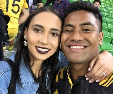 Rugby couple Julian and Fatima Savea share on their baby struggles