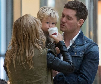 Michael Buble reveals his son Noah will be home for Christmas