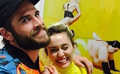Miley Cyrus and Liam Hemsworth make a rare outing together