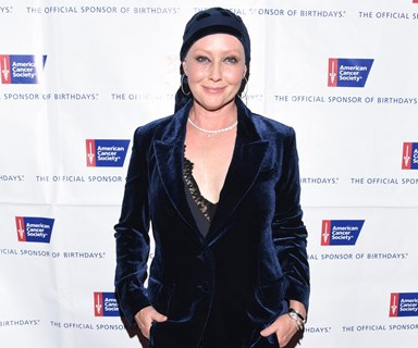Shannen Doherty honoured by American Cancer Society