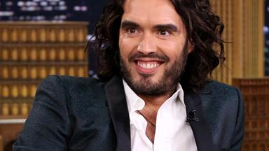 Russell Brand welcomes first child with fiancée Laura Gallacher