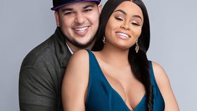 Rob Kardashian and Blac Chyna welcome their daughter!