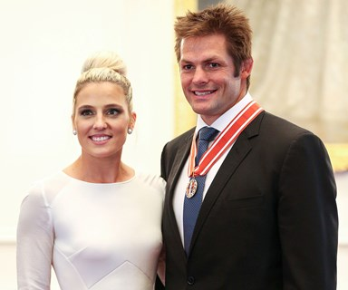 Richie McCaw and Gemma Flynn tie the knot