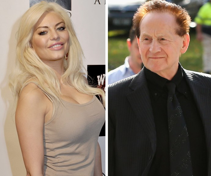 Ashley Kirk and Geoffrey Edelsten