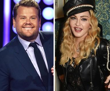 Madonna reveals she's doing Carpook Karaoke with James Corden