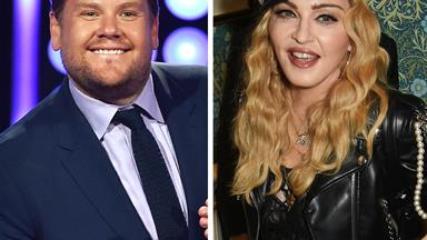 Madonna reveals she's doing Carpook Karaoke with James Corden