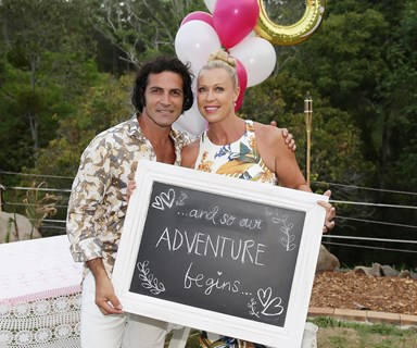 Lisa Curry and Mark Tabone's romantic BBQ engagement party