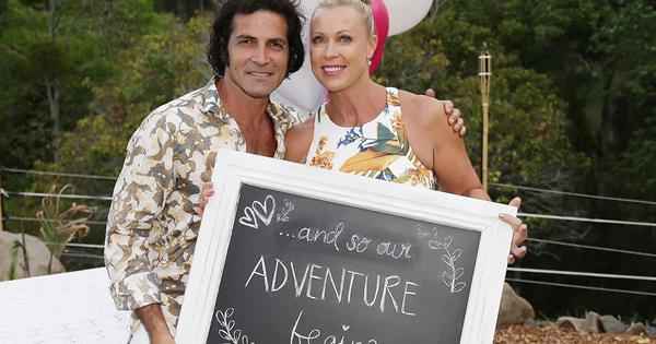 Lisa Curry And Mark Tabone S Engagement Party Woman S Day