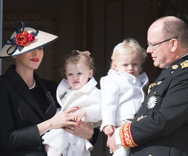 Monaco Royal Twins steal the show at National Day celebrations