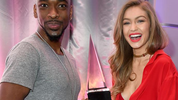 The 2016 American Music Awards, Gigi Hadid, Jay Pharoah