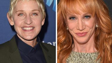 Kathy Griffin says Ellen DeGeneres has a mean streak