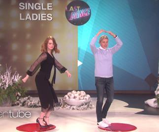 Emma Stone Ellen DeGeneres