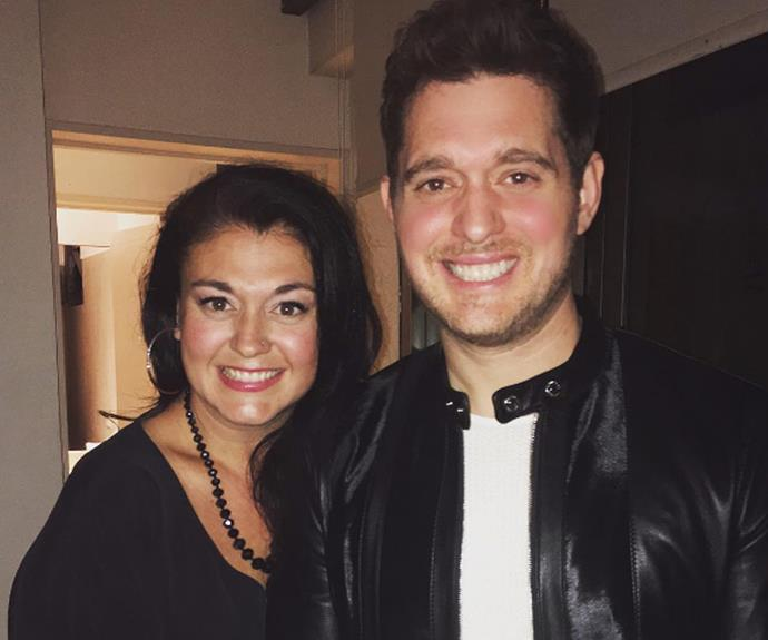 Michael and Brandee Buble