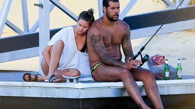 Jesinta Campbell and Buddy Franklin's Gold Coast honeymoon