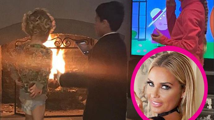 People are criticising Katie Price over this photo of three-year-old son Jett