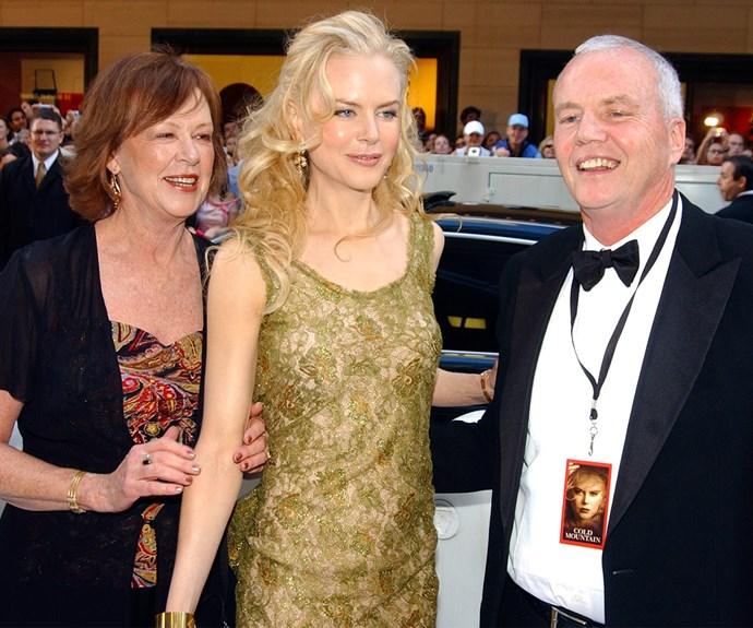 Nicole Kidman, Janelle Kidman, Anthony Kidman