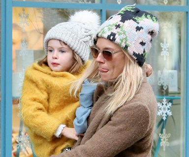 Sienna Miller steps out with her little girl Marlowe Sturridge